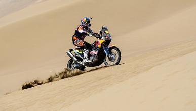 Rally Dakar 2015, Motos Etapa 7: Marc Coma ataca