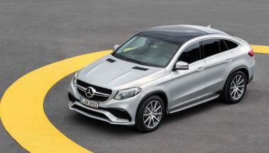 Mercedes GLE 63 AMG Coupé cenital