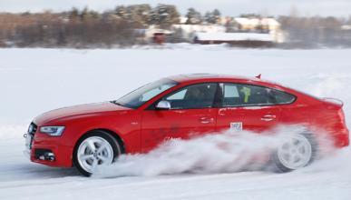 Cursos de conducción en nieve de Audi en Baqueira/Beret