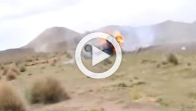 Vídeo: tremendo accidente de Matt Campbell en el Dakar
