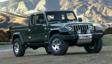 El Jeep Gladiator Concept (pick-up) podría producirse