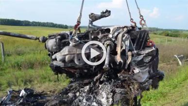Vídeo: un Lambo Huracán a 335 km/h antes de chocar