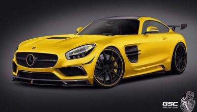 German Special Customs mete chicha al Mercedes AMG GT