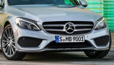 Cazado un misterioso prototipo del Mercedes Clase C