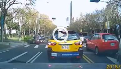 Vídeo: El atropello con más suerte
