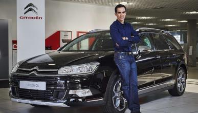 Citroën se une a Alberto Contador: un C5 para el ciclista