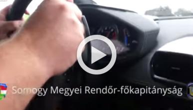 Choca a 340 km/h con su Lamborghini y lo graba en vídeo