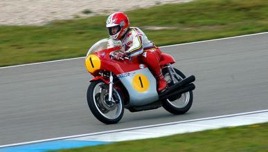 Giacomo Agostini, estrella del Classics & Legends de Cheste