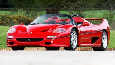 A la venta un Ferrari F50 con 12 kilómetros en el marcador
