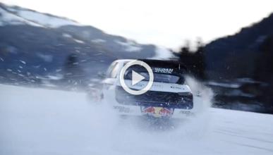 Vídeo: Ekström y Neureuther, slalom con el Audi S1 EKS RX