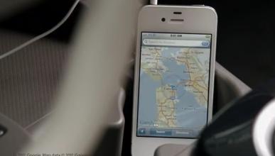 Apple patenta un salpicadero táctil para el coche
