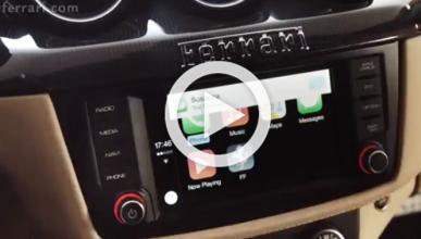 Cómo funciona Apple CarPlay en un Ferrari