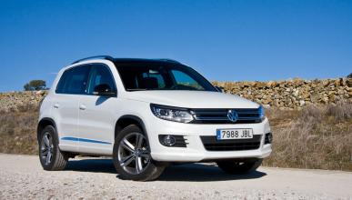 pruebas de volkswagen tiguan comparativas y test. Black Bedroom Furniture Sets. Home Design Ideas