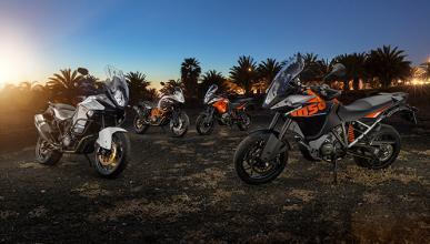 Toda la gama KTM Adventure 2015, a la venta desde febrero