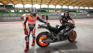 """Márquez: """"hoy hemos probado hasta tres motos distintas"""""""