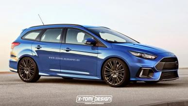 Ford Focus RS 2015 Wagon: ¡descubrimos el familiar!