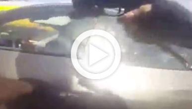 Un policía chileno graba cómo persigue y mata a un ladrón