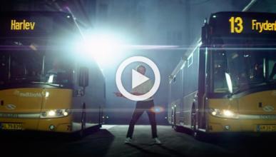 La manera más 'cool' de usar el autobús en Dinamarca