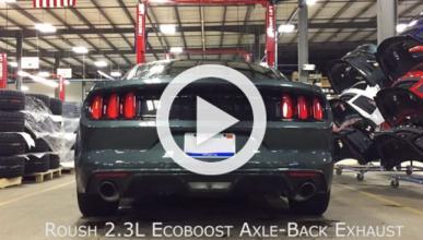Vídeo: Roush mejora el sonido del Ford Mustang Ecoboost