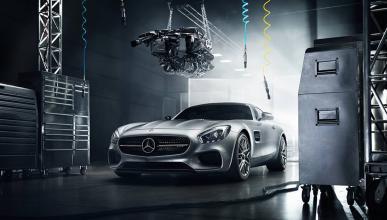 foto espectacular Mercedes AMG GT