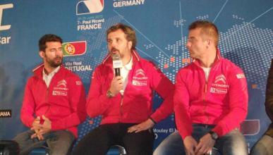 WTCC 2015: presentación del equipo Citroën