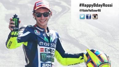 Llega el cumpleaños de Valentino Rossi. ¡Felicidades!