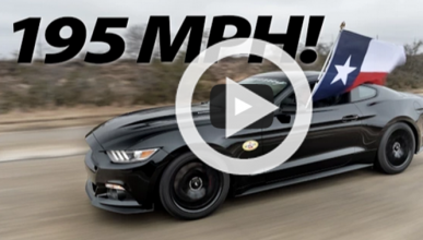 Hennessey acelera el Ford Mustang 2015 hasta 315 km/h