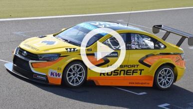 Vídeo: el nuevo Lada Vesta WTCC en pista