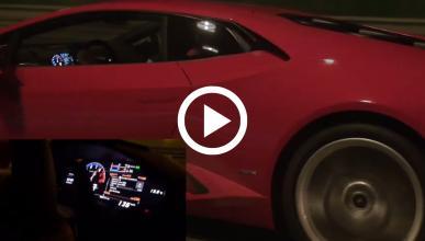 VÍDEO: Lamborghini Huracán contra un Mercedes E63 AMG