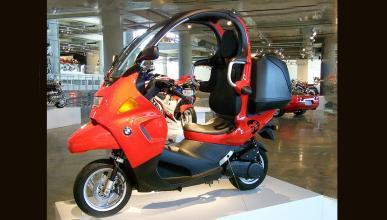 BMW C1 rojo