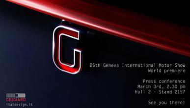 Italdesign Giugiaro presentará un concept en Ginebra