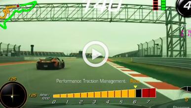 Vídeo: McLaren P1 'humilla' a un Corvette Z06 en circuito