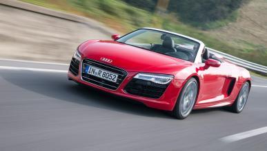 Cuánto cuesta, de segunda mano, un coche de película - Audi R8 V10 rojo