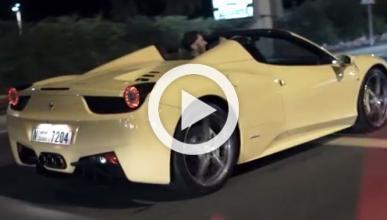 Benzema se pasea en Rolls Royce y Ferrari al ritmo de 2Pac