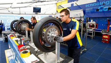 Michelin concluye sus pruebas de MotoGP en Malasia