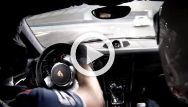 Vídeo: un 911 GT3 se libra por poco de un brutal accidente
