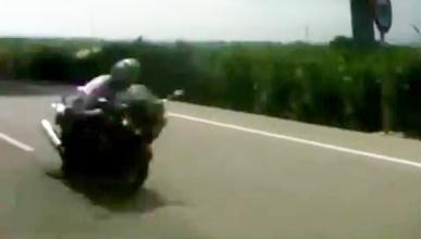 Detienen al motorista que circulaba a 300 km/h en Castellón