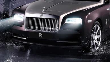 El Rolls-Royce Wraith Drophead Coupé: ¡pillado!