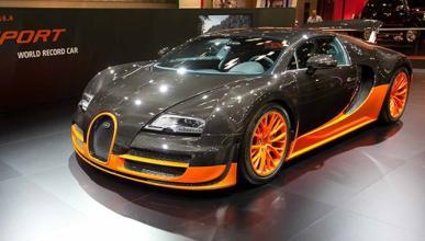 Bugatti Veyron Super Sport WRC, ¡no es de rallys!
