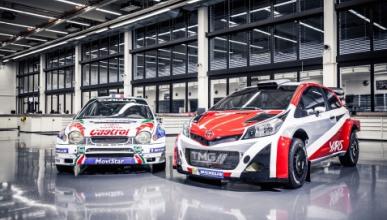 Toyota presenta sus actividades en competición para 2015