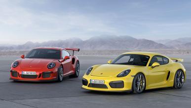 Porsche 911 GT3 RS tres cuartos delantero