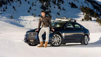 Aitor Ocio y Ana Rodríguez prueban la gama AWD de Jaguar