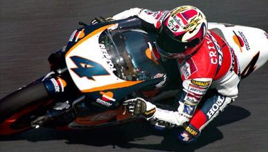 Cumpleaños de Álex Crivillé,  único campeón español de 500