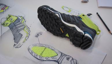 El caucho de Continental en la suela de las zapatillas adidas