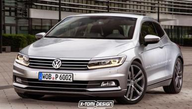 Así podría ser el Volkswagen Scirocco 2018 según X-Tomi