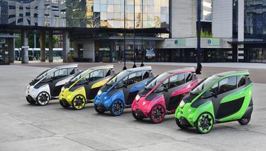 Toyota pone a prueba un servicio compartido de i-Road