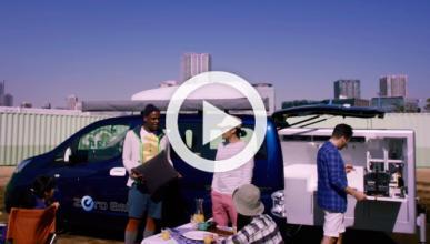 Llega el coche barbacoa: Nissan Ultimate Smart BBQ Vehicle