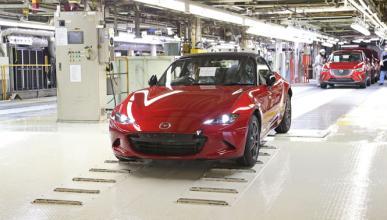 Comienza la producción del nuevo Mazda MX-5