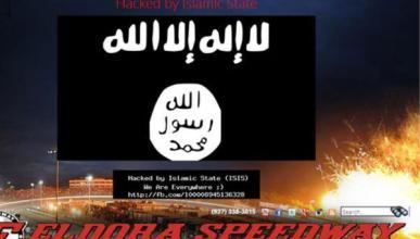 La web del circuito Eldora Speedway hakeada por el ISIS