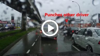 Mira cómo el Karma se la devuelve rápido a este conductor